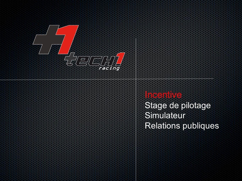 Incentive Stage de pilotage Simulateur Relations publiques