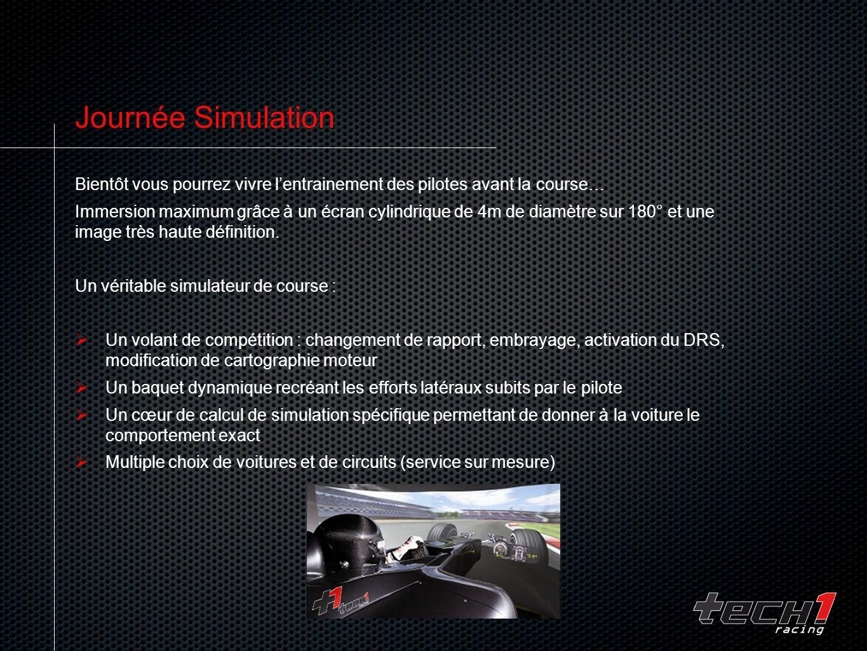 Journée Simulation Bientôt vous pourrez vivre l'entrainement des pilotes avant la course…