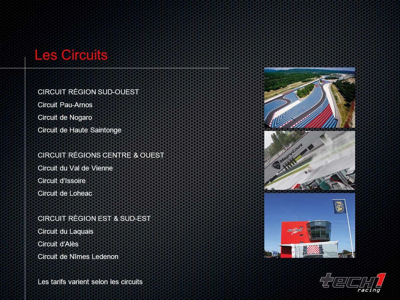 Les Circuits Circuit Région Sud-Ouest Circuit Pau-Arnos