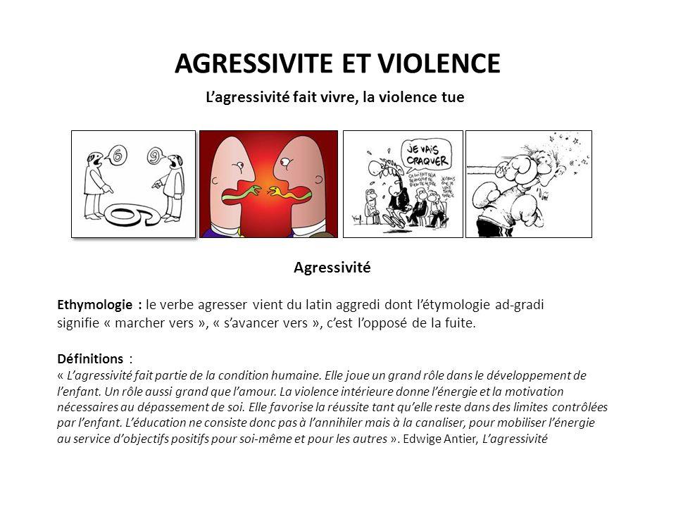AGRESSIVITE ET VIOLENCE