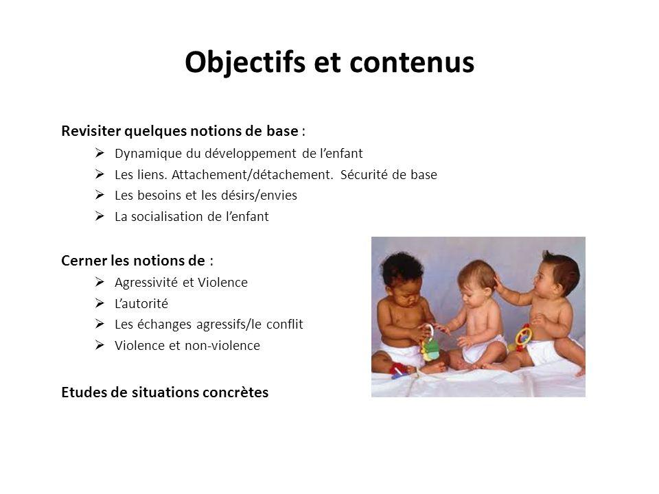 Objectifs et contenus Revisiter quelques notions de base :