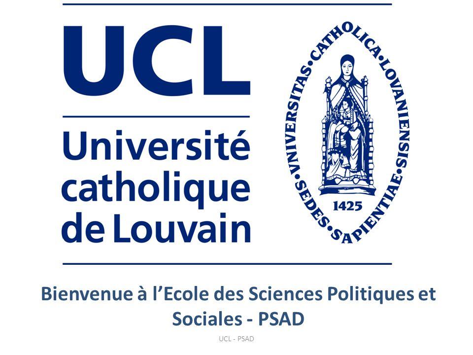 Bienvenue à l'Ecole des Sciences Politiques et Sociales - PSAD