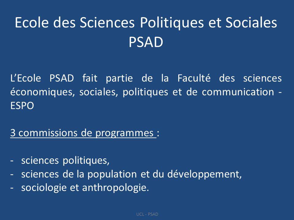 Ecole des Sciences Politiques et Sociales