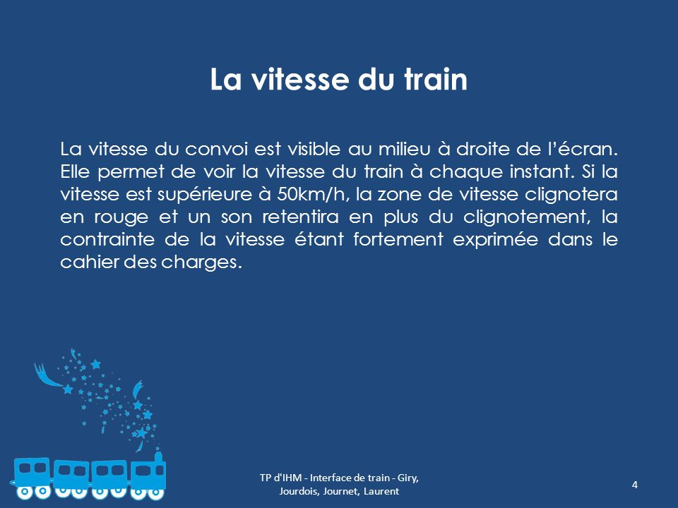 TP d IHM - Interface de train - Giry, Jourdois, Journet, Laurent