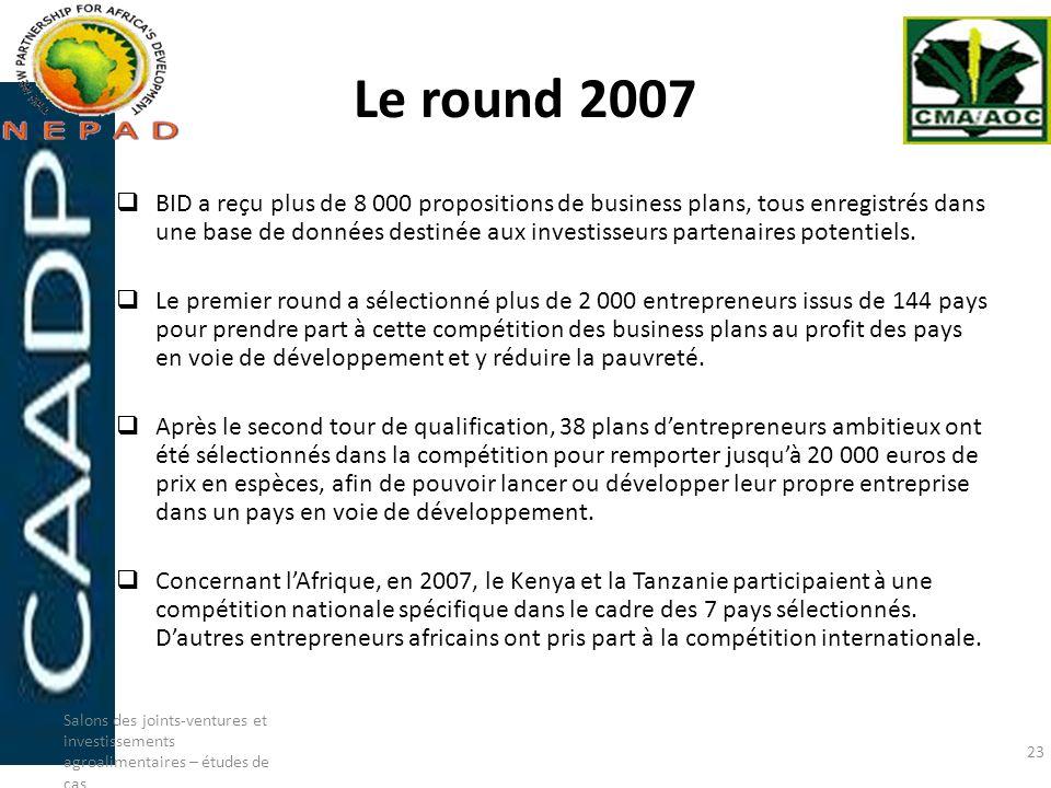 Le round 2007