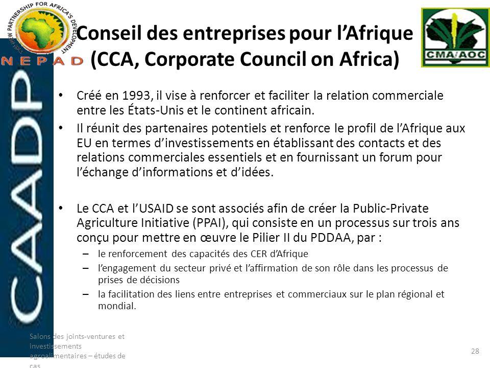 Conseil des entreprises pour l'Afrique (CCA, Corporate Council on Africa)