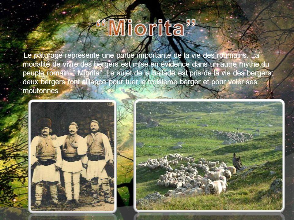 Le pâturage représente une partie importante de la vie des roumains