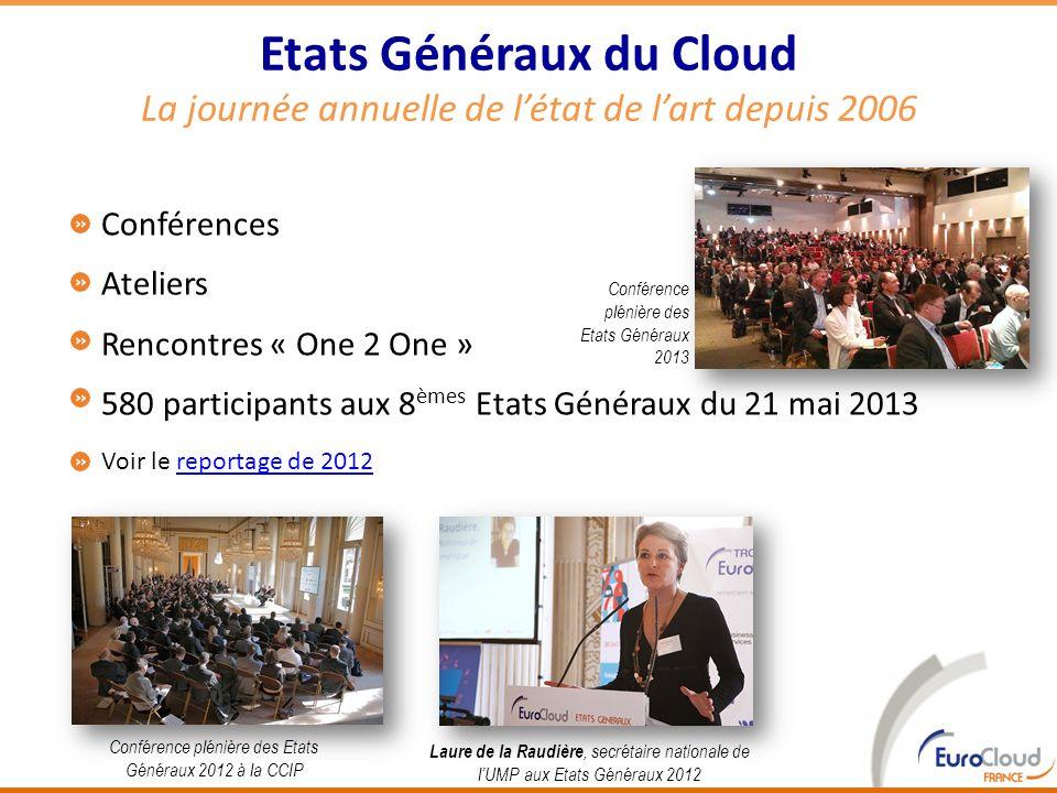 Conférence plénière des Etats Généraux 2012 à la CCIP