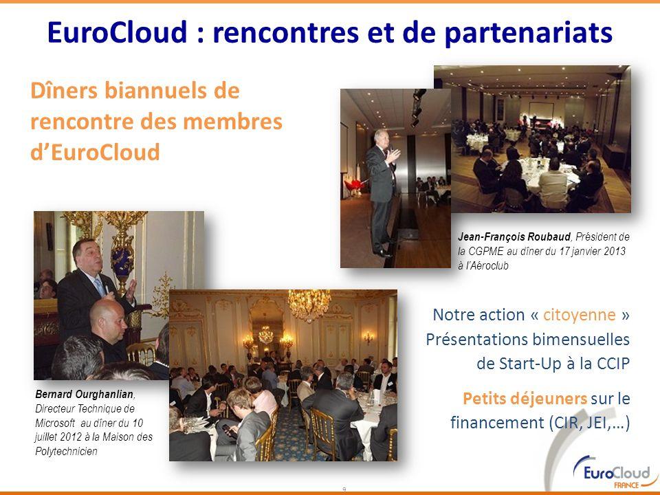 EuroCloud : rencontres et de partenariats