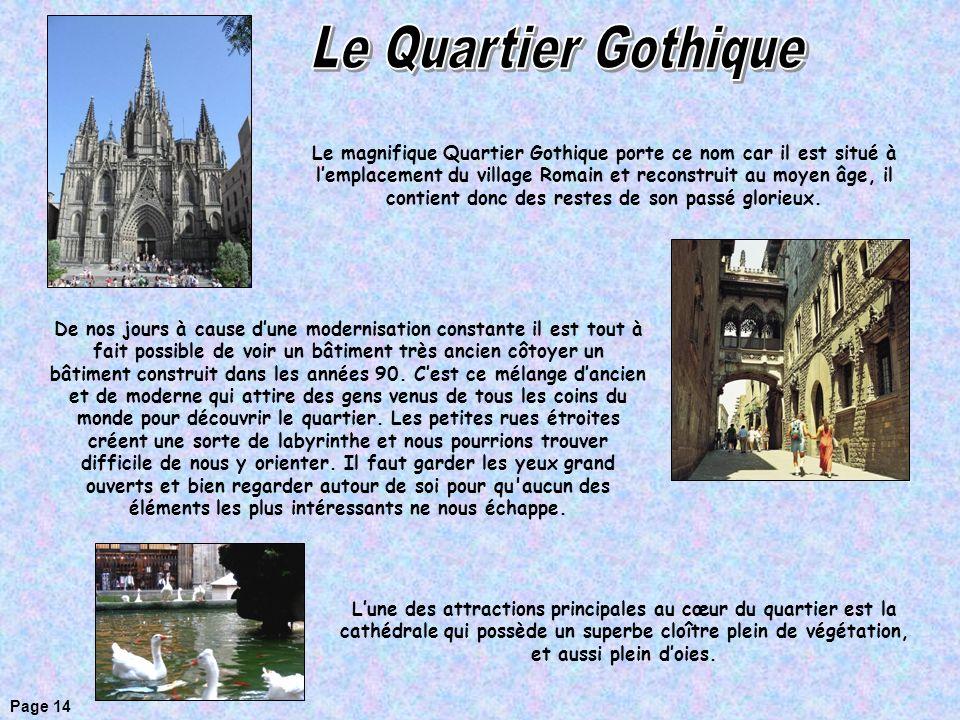 Le Quartier Gothique