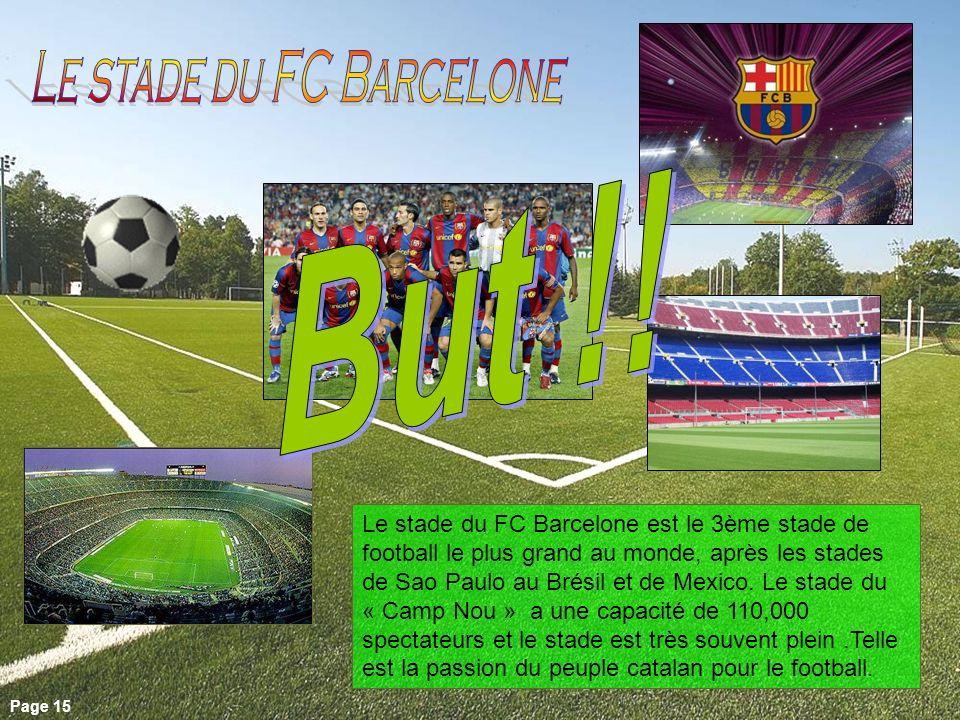 Le stade du FC Barcelone