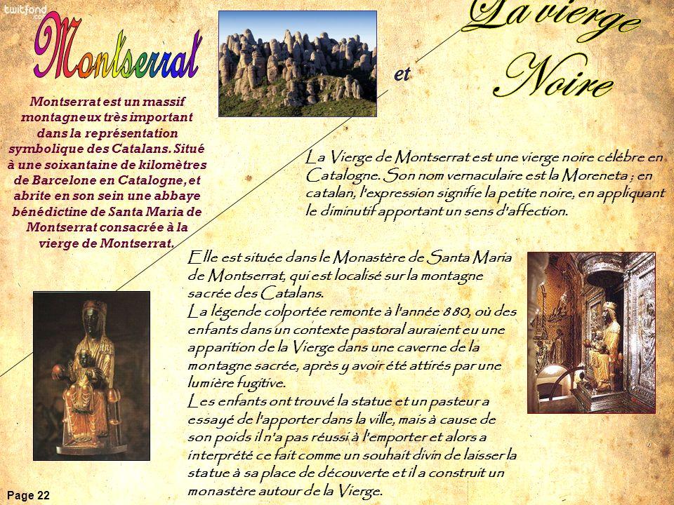 Montserrat et La vierge Noire