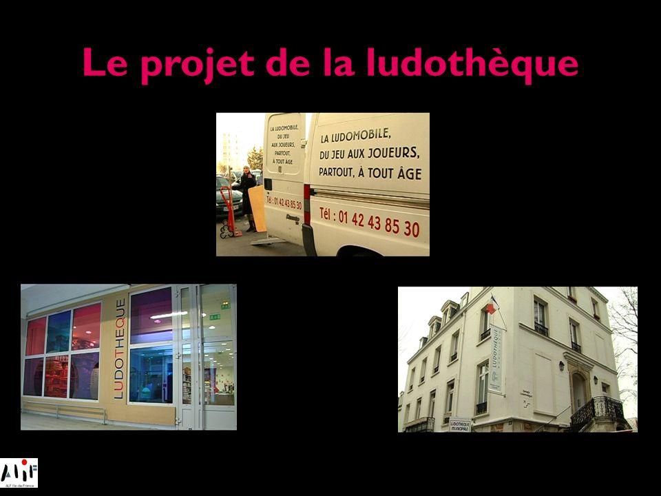 Le projet de la ludothèque