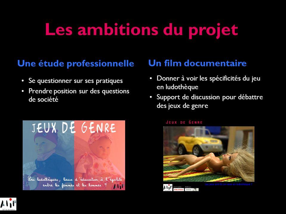 Les ambitions du projet