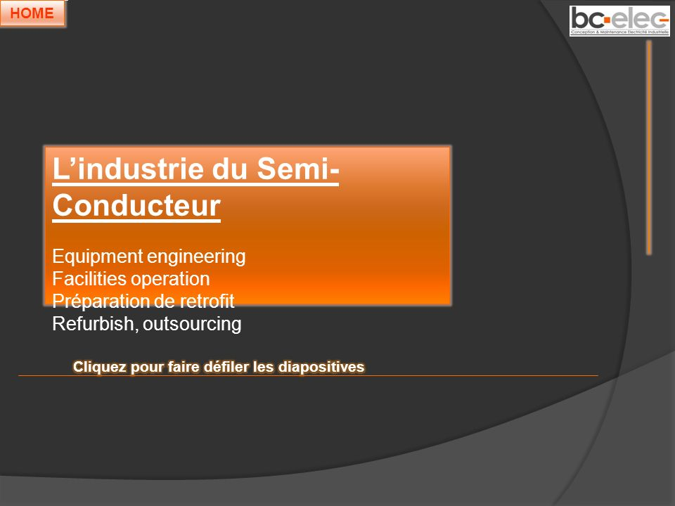 L'industrie du Semi-Conducteur
