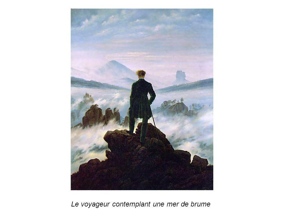 Le voyageur contemplant une mer de brume