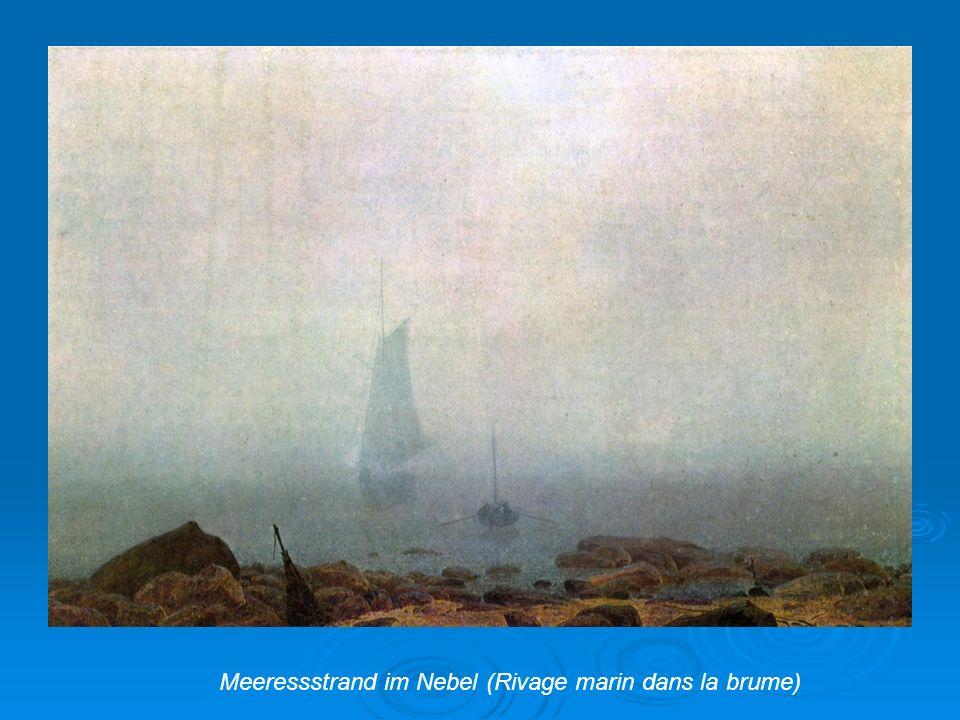 Meeressstrand im Nebel (Rivage marin dans la brume)