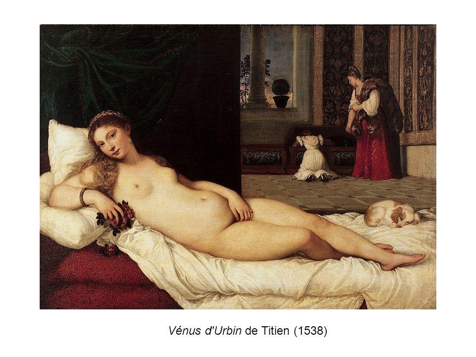 Vénus d Urbin de Titien (1538)