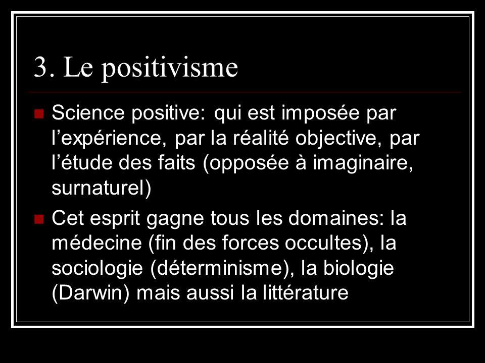 3. Le positivisme