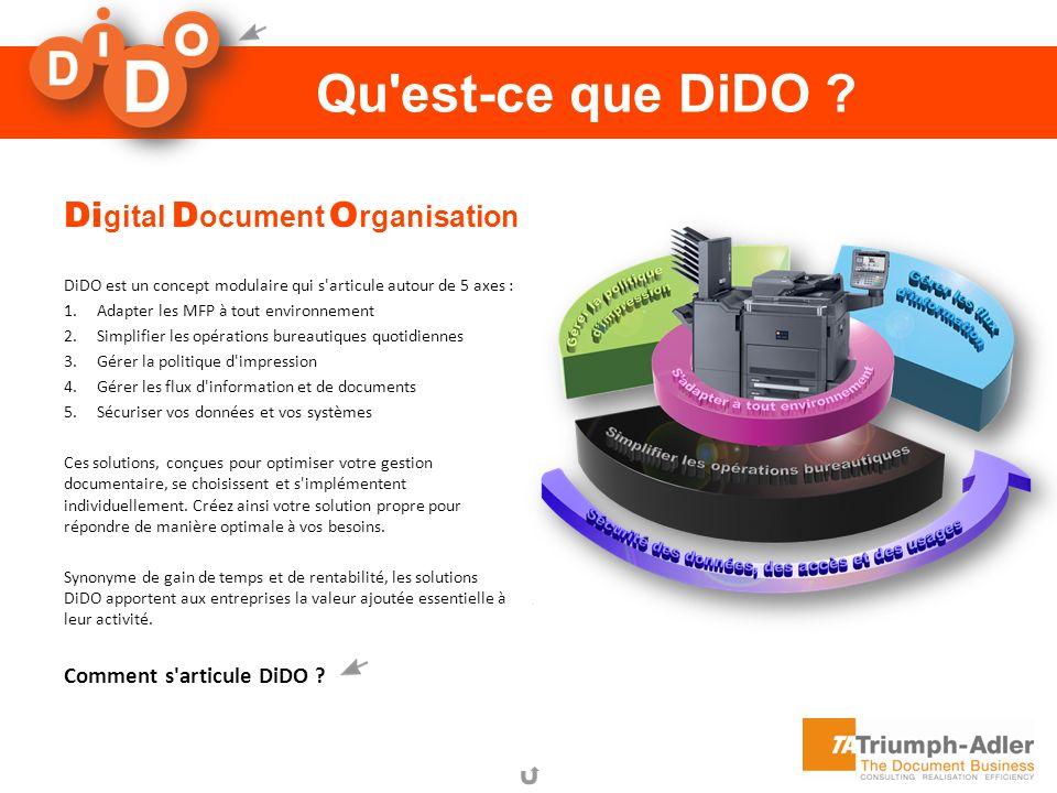Qu est-ce que DiDO Digital Document Organisation