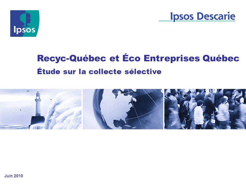 Recyc-Québec et Éco Entreprises Québec