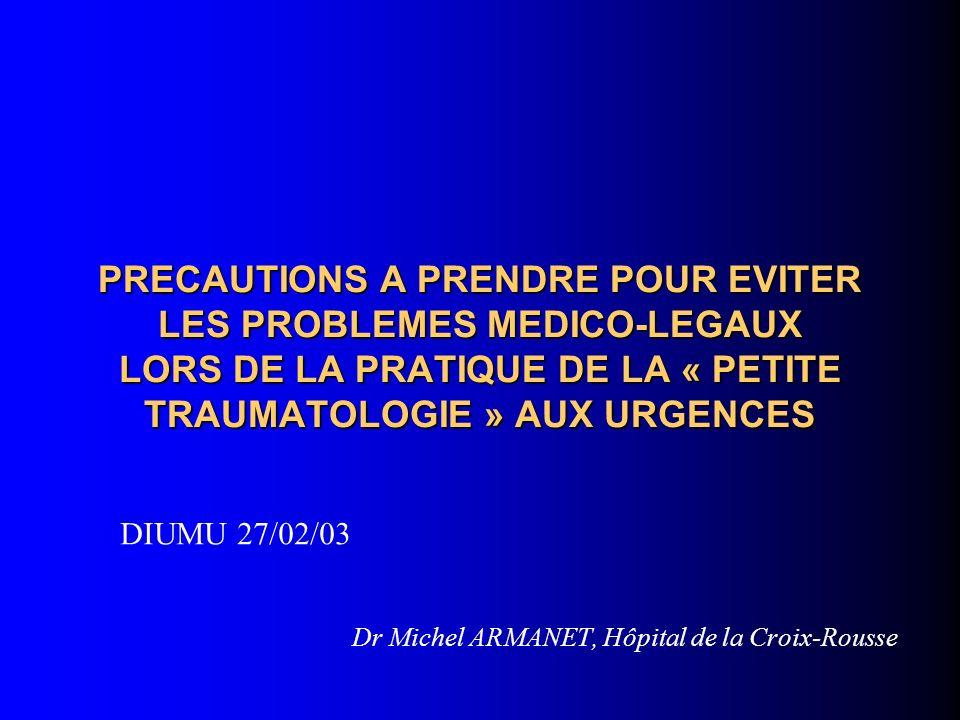 Dr Michel ARMANET, Hôpital de la Croix-Rousse