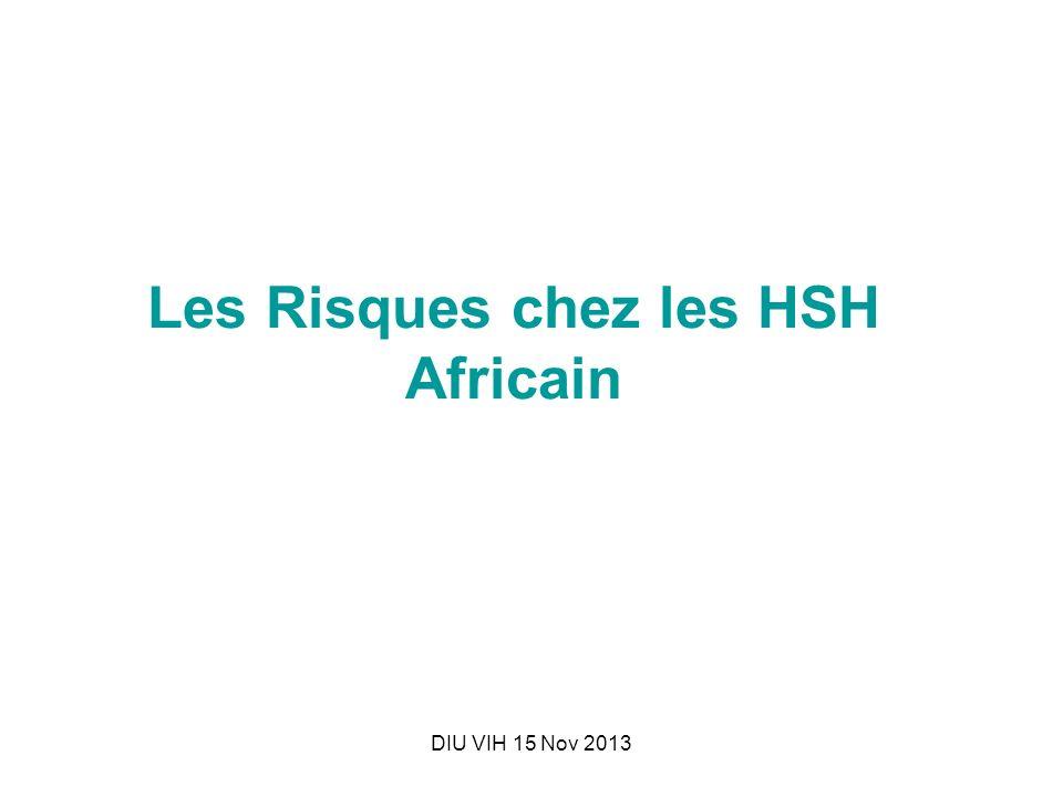 Les Risques chez les HSH Africain