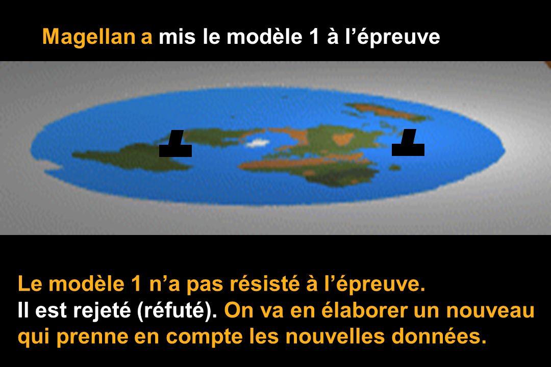 Magellan a mis le modèle 1 à l'épreuve