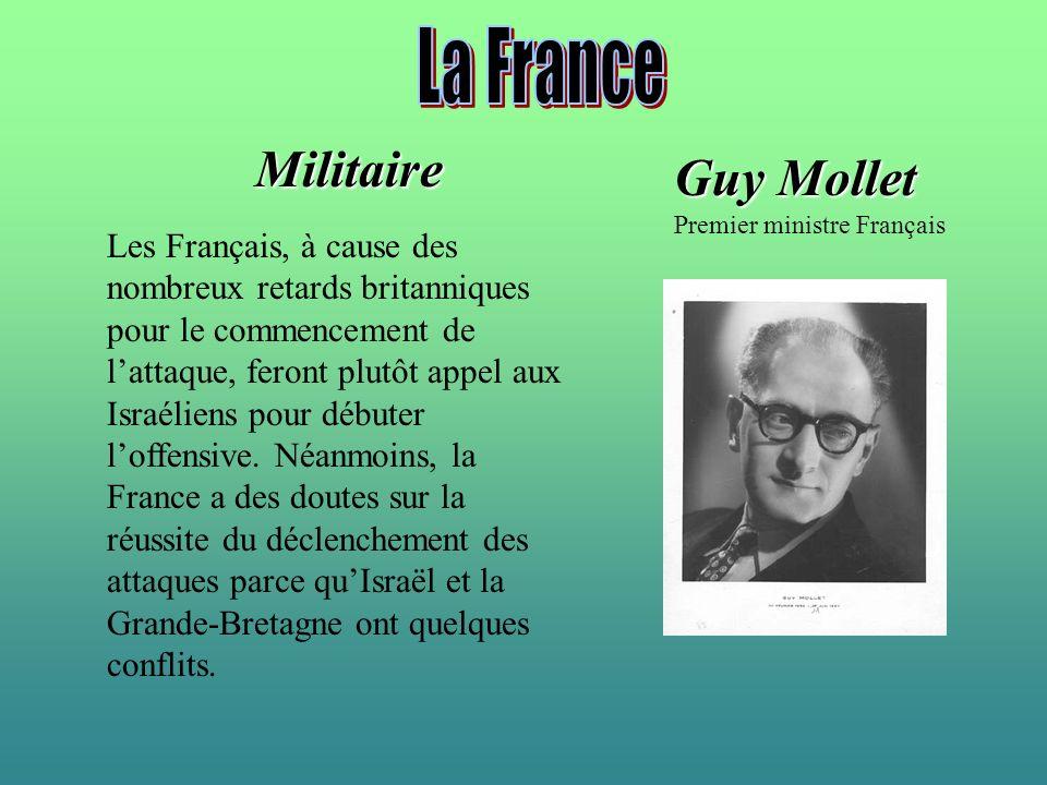 La France Militaire Guy Mollet