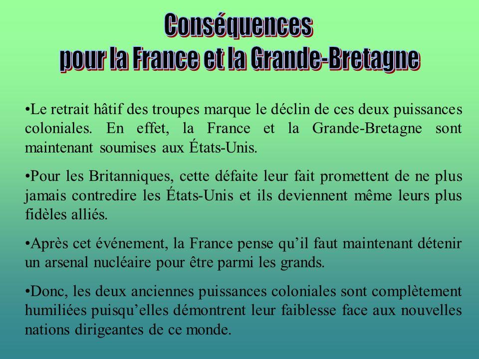 pour la France et la Grande-Bretagne