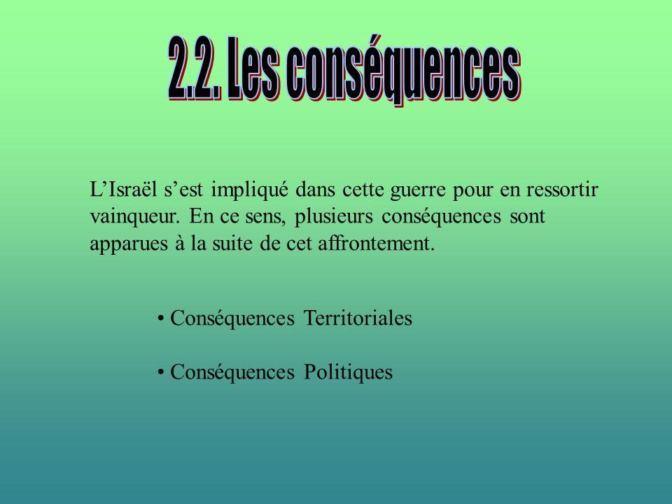 2.2. Les conséquences