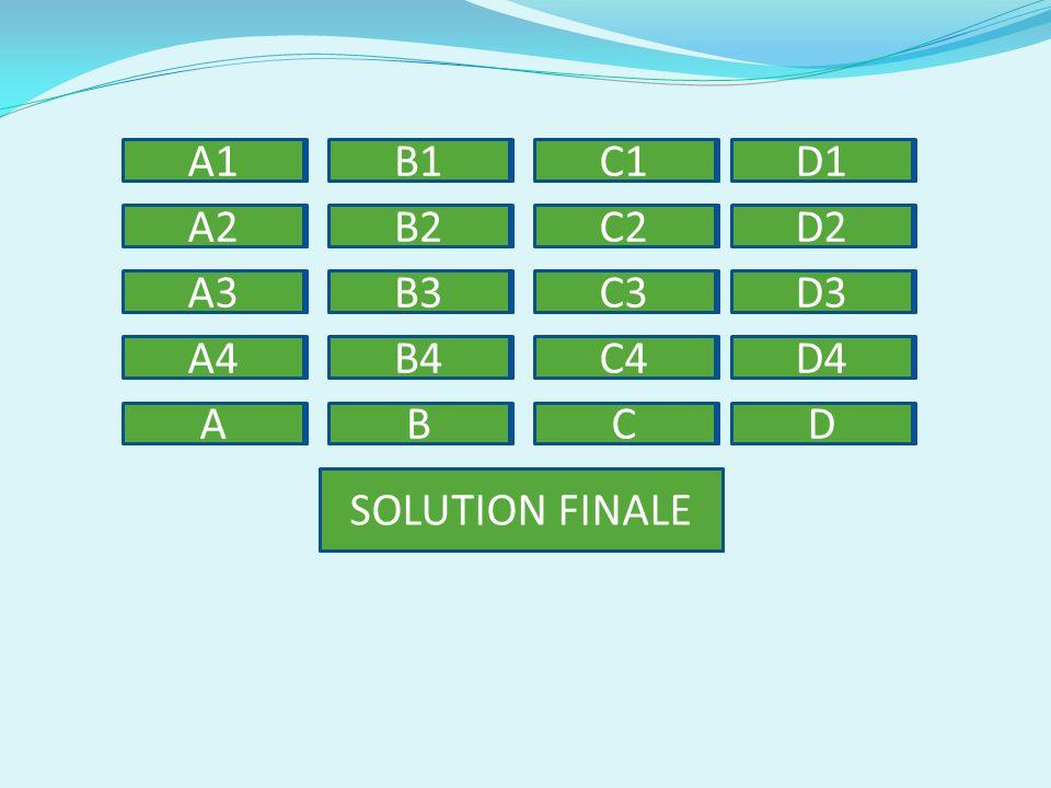 A1 B1 C1 D1 A2 B2 C2 D2 A3 B3 C3 D3 A4 B4 C4 D4 A B C D