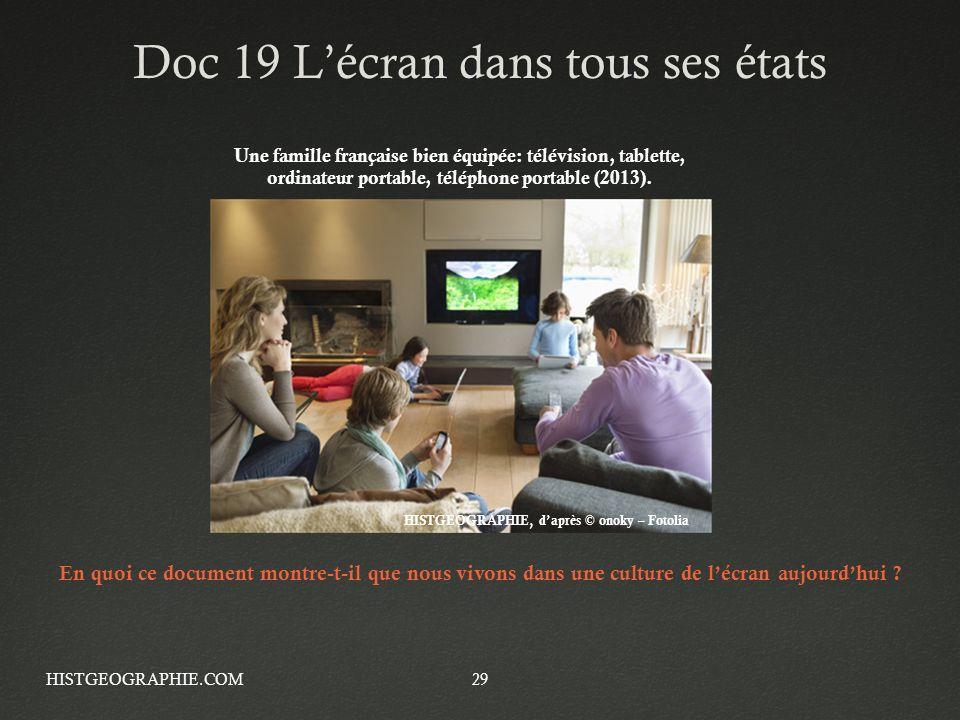 Doc 19 L'écran dans tous ses états