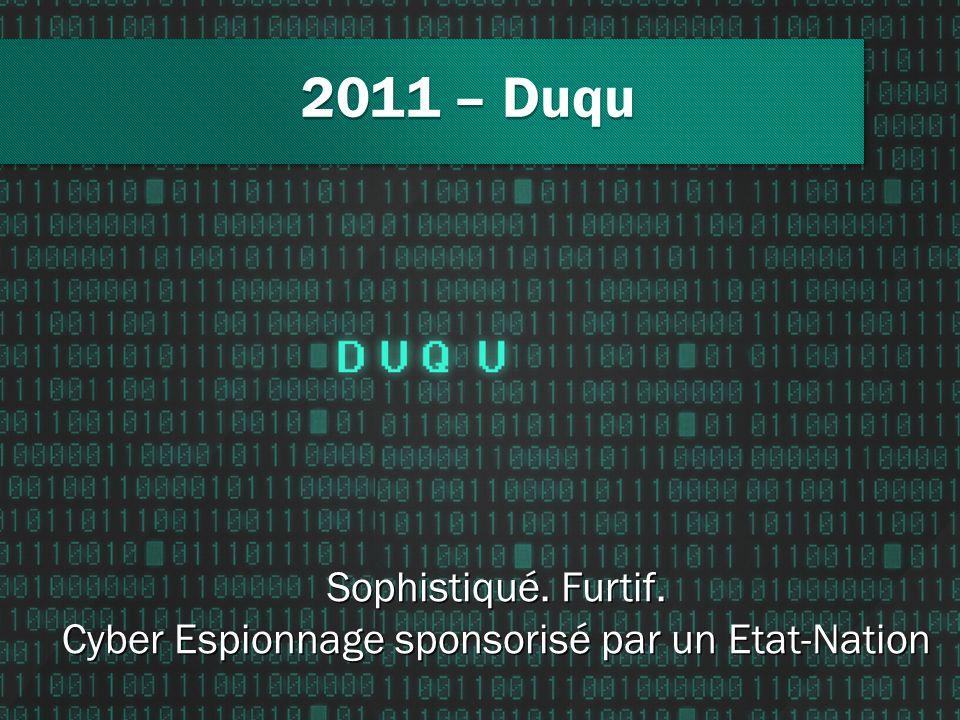 Cyber Espionnage sponsorisé par un Etat-Nation