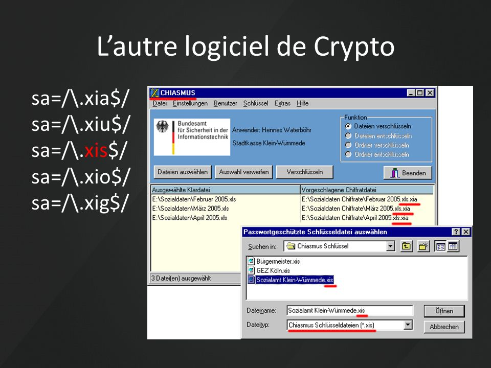 L'autre logiciel de Crypto