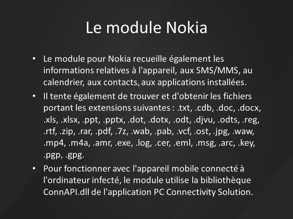 Le module Nokia