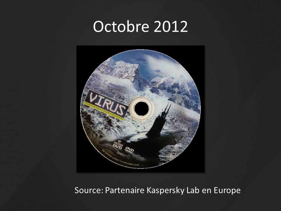 Source: Partenaire Kaspersky Lab en Europe