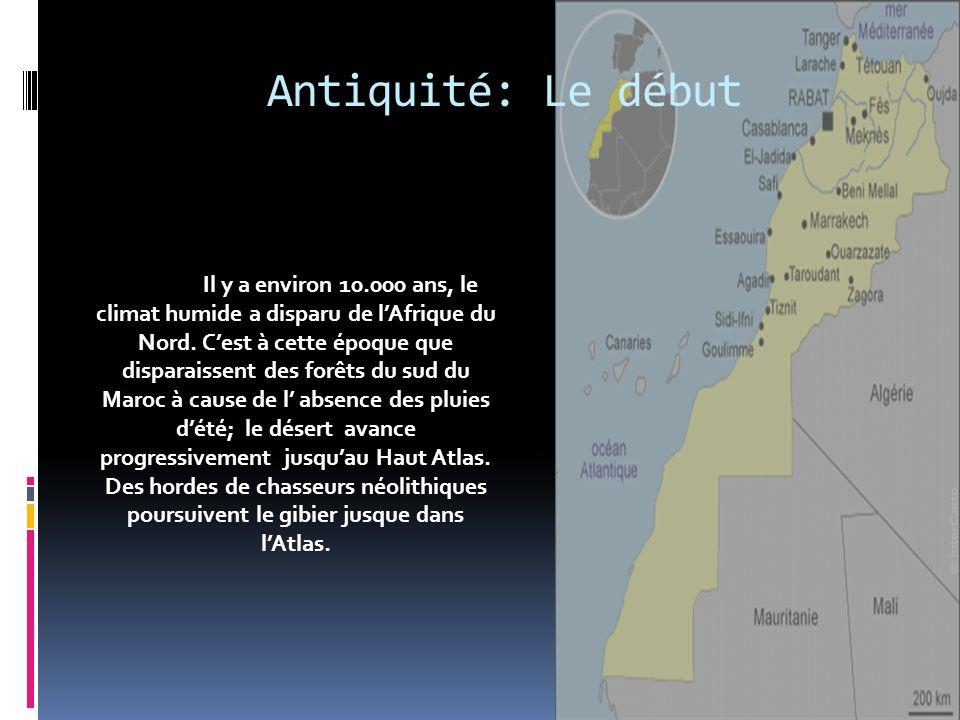 Antiquité: Le début I.