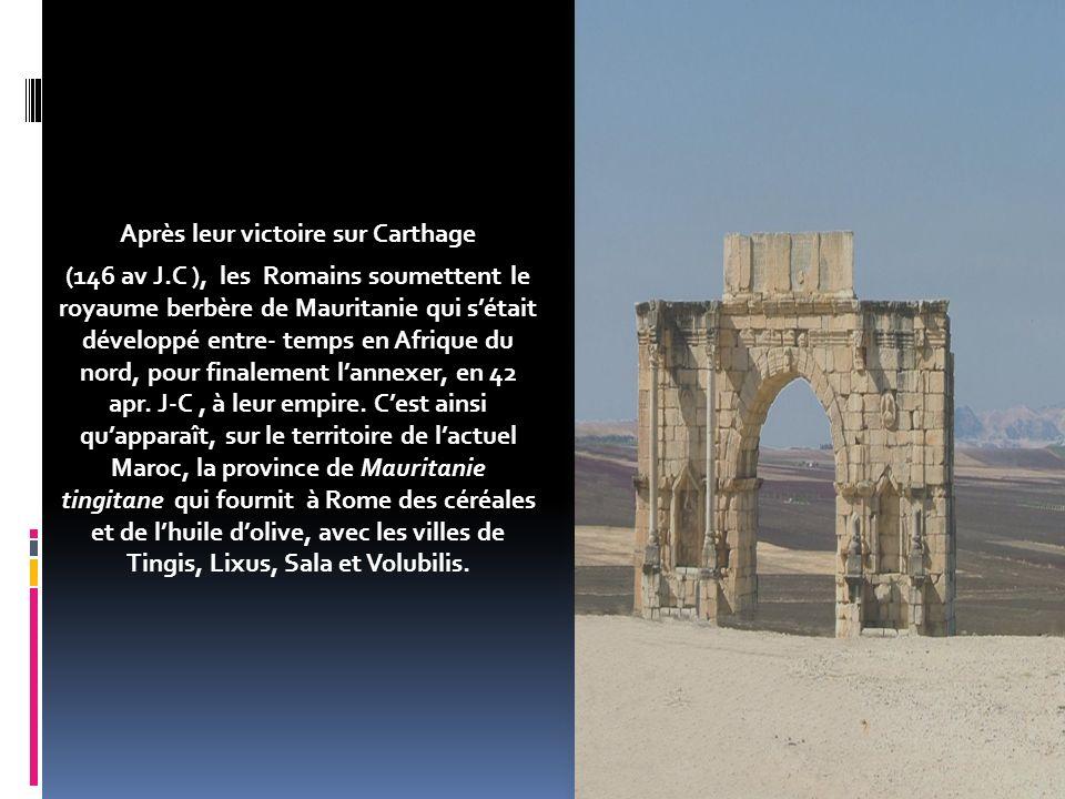 Après leur victoire sur Carthage