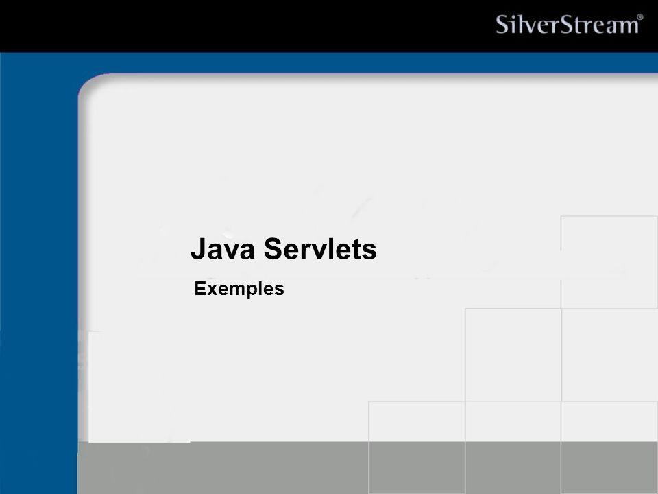 Java Servlets Exemples * 07/16/96