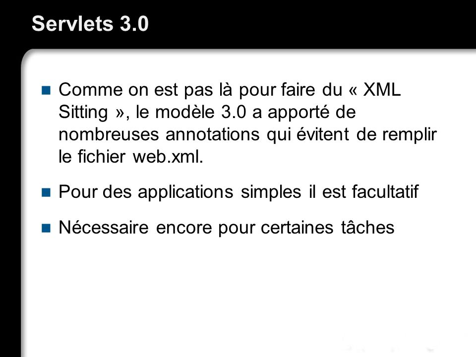 Servlets 3.0