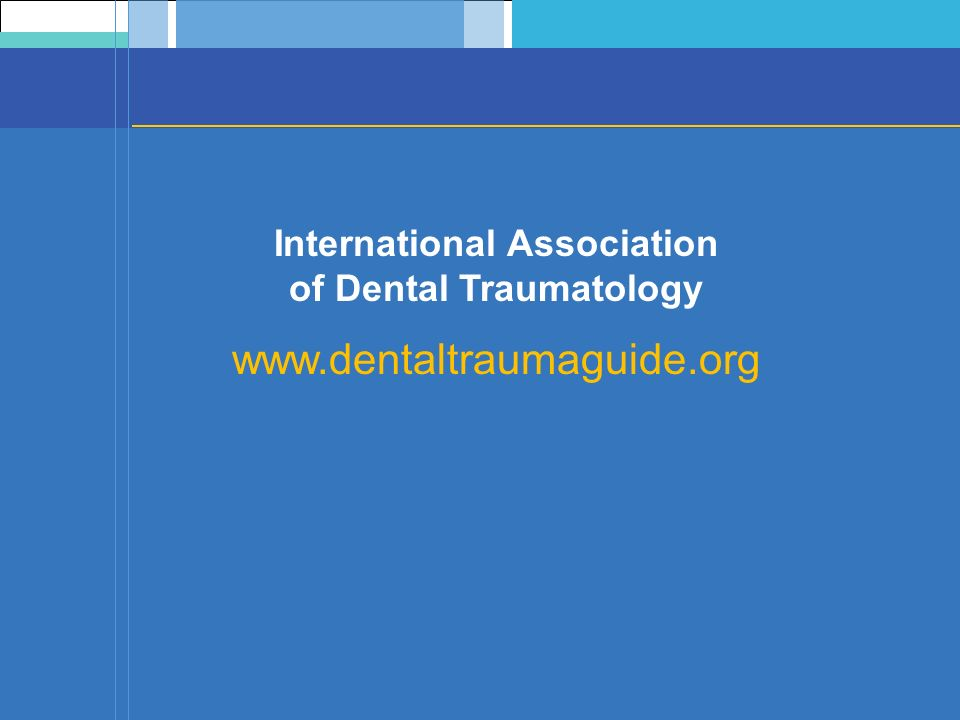 International Association of Dental Traumatology