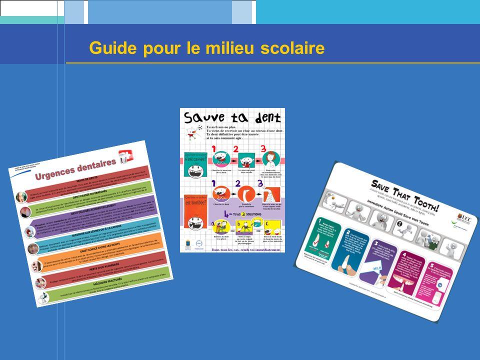 Guide pour le milieu scolaire