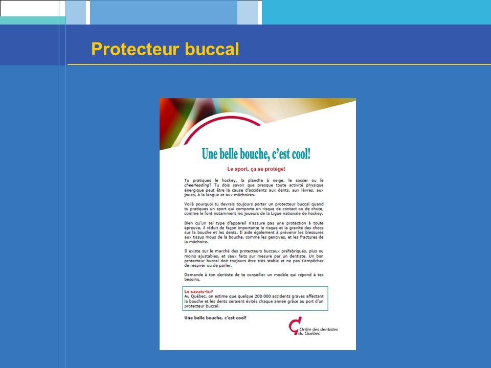 Protecteur buccal