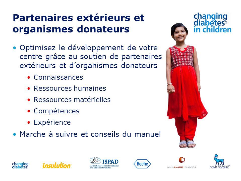 Partenaires extérieurs et organismes donateurs