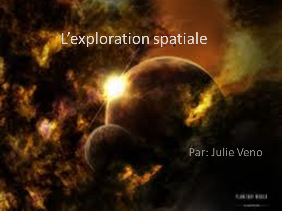 L'exploration spatiale