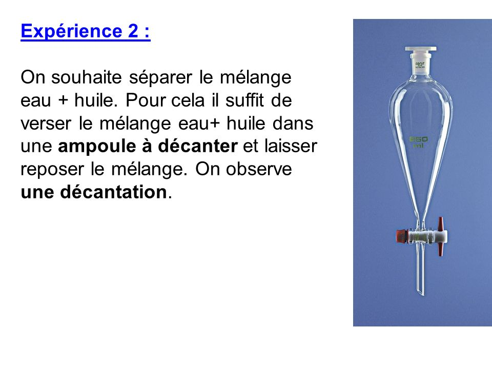 Expérience 2 :