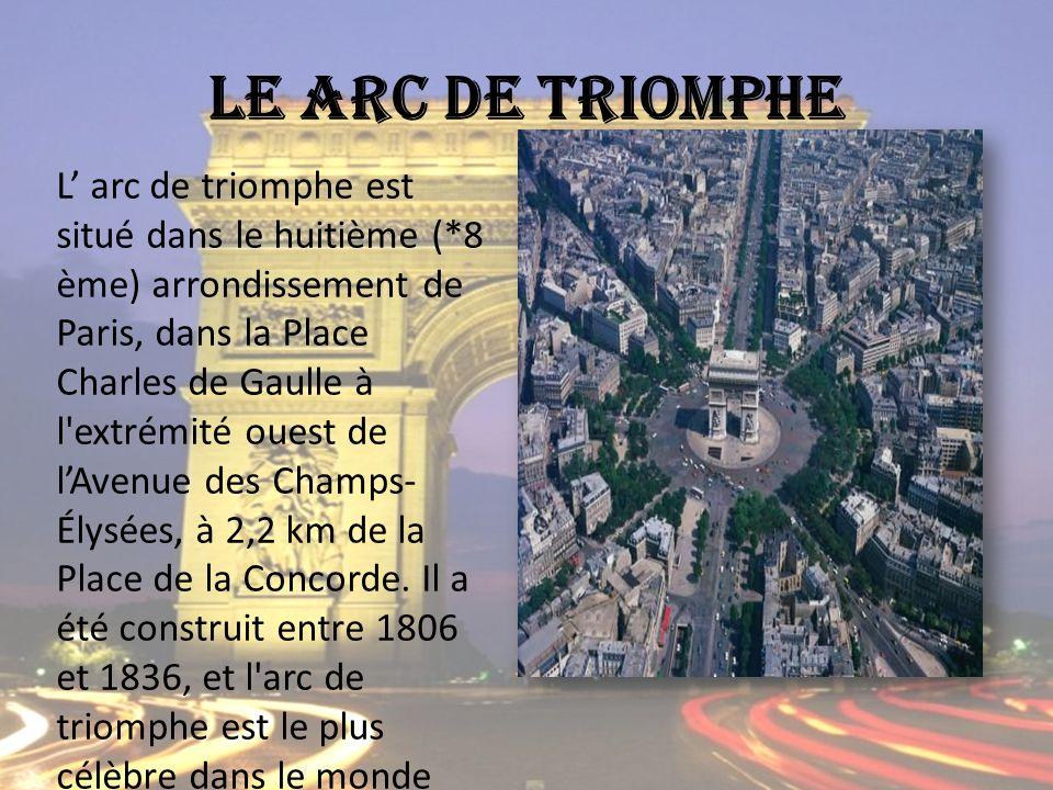 Le arc de triomphe