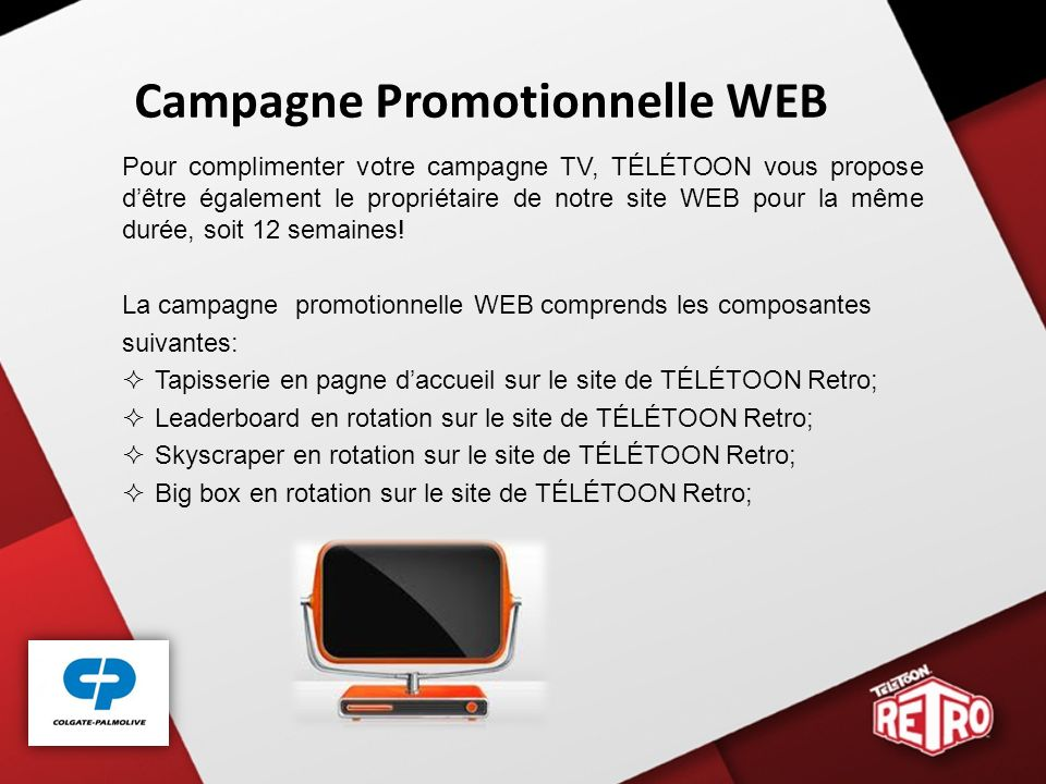 Campagne Promotionnelle WEB