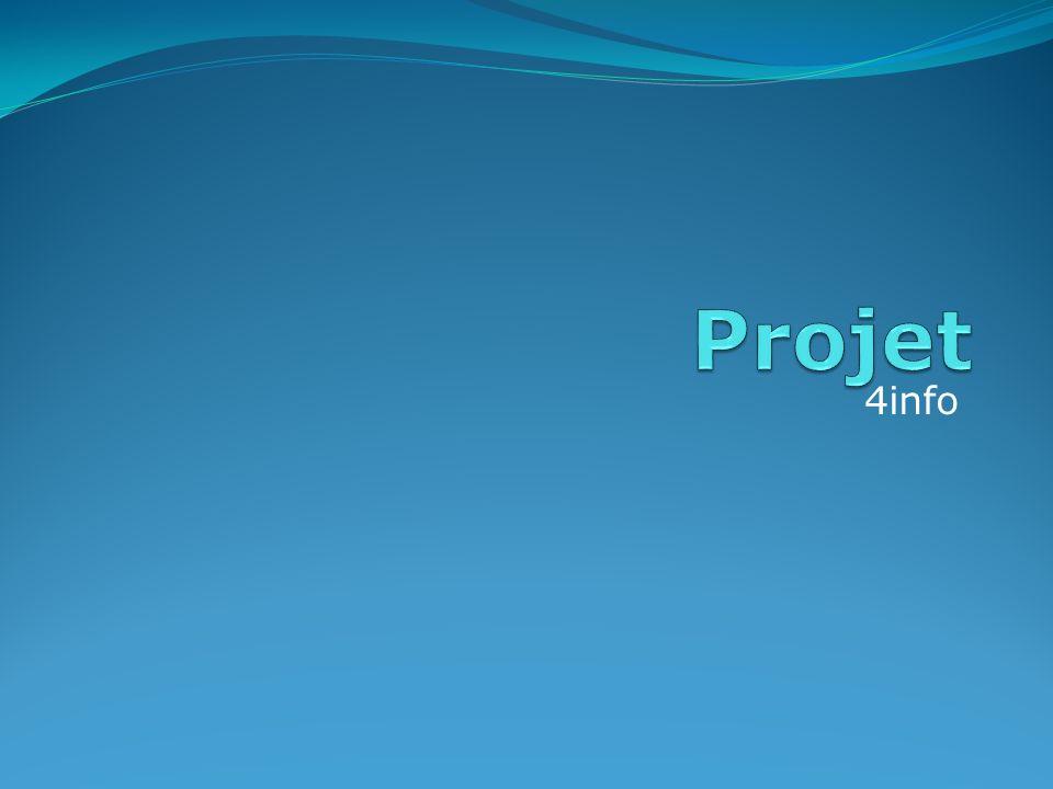 Projet 4info